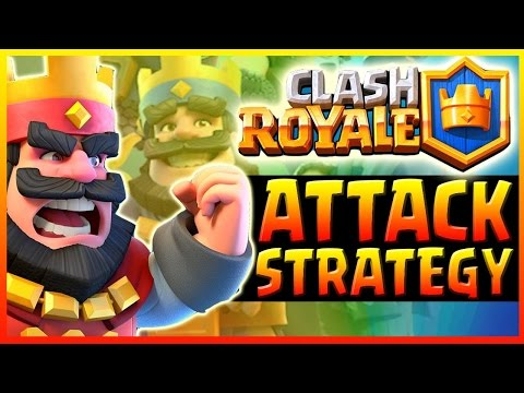 Clash Royale Strategy ♦ SURPRISE Deck! ♦Attack Strategy