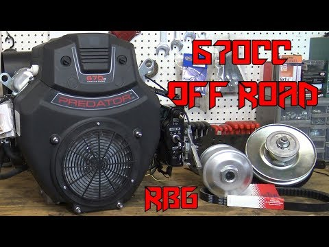 Predator 670cc Off Road Go Kart Build Ep 1