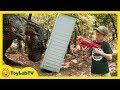 Giant Dinosaurs Nerf Challenge Life Size T Rex Dinosaur Chase Jurassic World Fallen Kingdom Toys