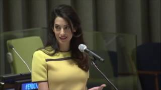 Amal Clooney's Speech at UN Event, 9 March 2017