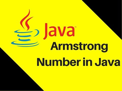 5.16 Armstrong Number in Java