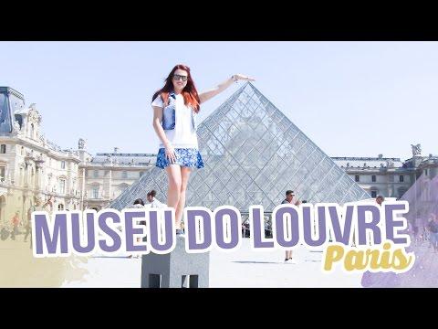 Paris, Museu do Louvre, Notre Dame - Dia 2 Vlog - Fabi Santina