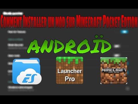 TUTO / Comment installer un mod mcpe sur Android ! [HD-FR] 60 fps