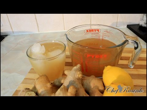 Jamaican Ginger Beer Recipe Jamaican | Recipes By Chef Ricardo