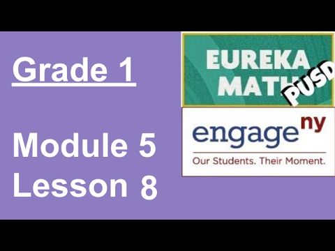 Eureka Math Grade 1 Module 5 Lesson 8