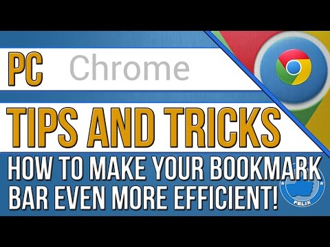 How to Make Your Chrome Bookmarks Super Efficient!
