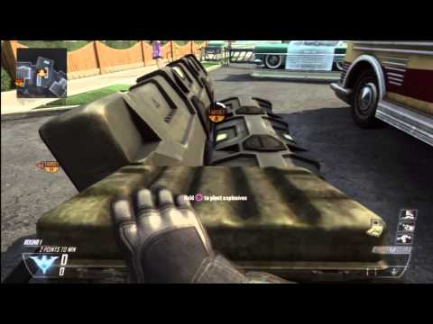 Black Ops 2 Glitches NEW Walk Around With Bomb Glitch Tutorial !