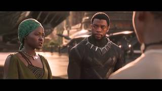 Black Panther- T'Challa Arrival In Wakanda (HD)