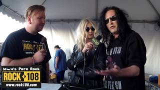 Ned-Rock 108 Interviews The Pretty Reckless @ Northern Invasion 2017