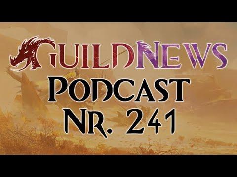 Guildnews Podcast Nr. 241 - Unterwasserkampf, Fehler von GW2 und mehr