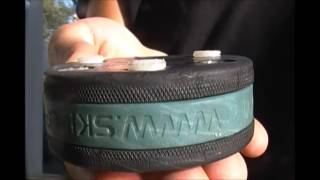 Skillpuck Skill Puck Shooting Street Roller Hockey Training And Playi