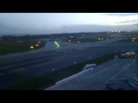 C-5 or 17 Galaxy take off Dublin airport