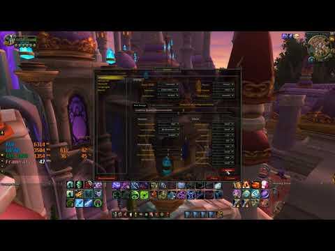 !World of Warcraft: Legion! FPS test in Dalaran on g4560 and GTX 1050 2GB