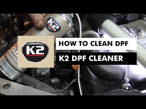 HOW TO CLEAN DPF - K2 DPF CLEANER