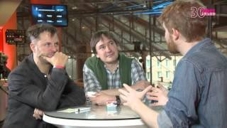 """Interview with Philipp Hochmair and Händl Klaus about """"Tomcat"""""""