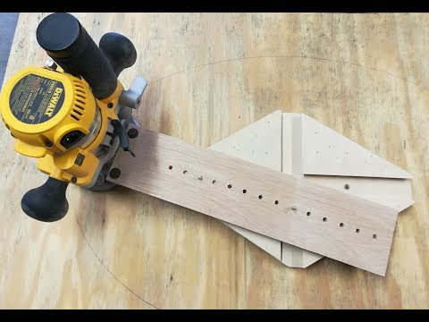 Simple Oval Router Jig