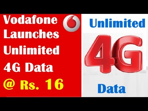 Vodafone Launches Unlimited  4G Data @ Rs. 16 | Vodafone 4g plan | Earning Baba