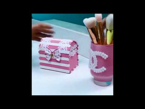 Video: How to make Gift Box or Jewelry Box from cardboard