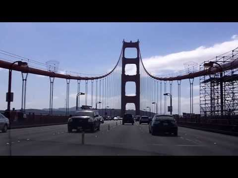 How To Conquer Fear Of Driving Over Bridges 1 of 2: Live Demonstration On The Golden Gate Bridge