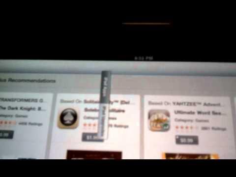 iPad menu bar goes crazy