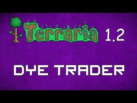 Dye Trader - Terraria 1.2 Guide New NPC! - GullofDoom - Guide/Tutorial