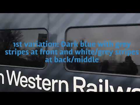 South Western Railway cannot decide on what livery they want