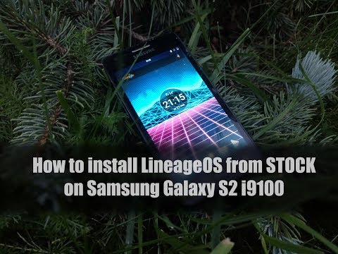 How to install LineageOS from STOCK on Samsung Galaxy S2
