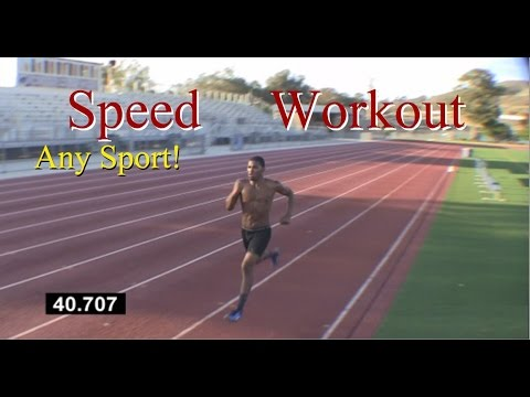 How to Run Faster: Speed Workout Any Sport !