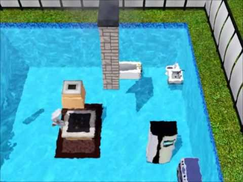 Sims 3 underwater house