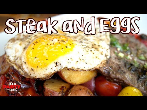 The best Steak and Eggs - Blackstone Griddle