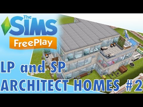 Sims Freeplay | NEW SP and LP Architect Homes