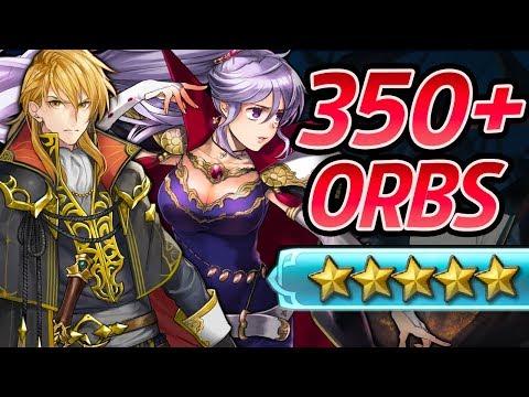 Fire Emblem Heroes - 350+ Orbs Summons: ARES, ISHTAR & LENE! [Genealogy Banner]