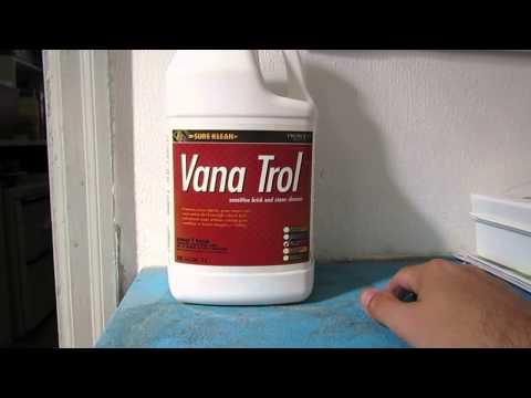 Vana Trol Masonry Cleaner