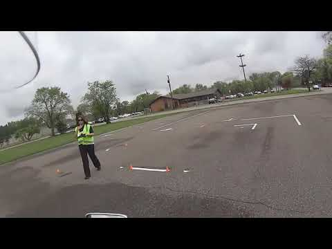 Minnesota Motorcycle Driving Test - May 15th 2015