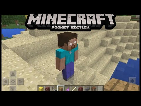 I FOUND HEROBRINE NOTCH and Chuck Noris in  Minecraft Pe (How To Spawn Herobrine with Mods) | MCPE