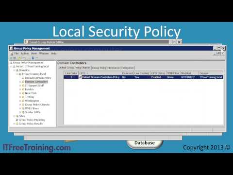 MCITP 70-640: Windows Security Settings and Security Templates
