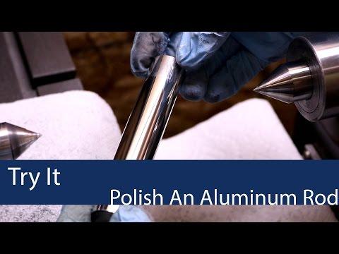 How to Polish Aluminum to Mirror Finish on a Lathe