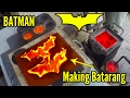 Making 'gold' Batman Batarangs from brass bullet shells