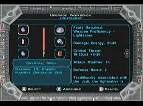 Super lightsaber glitch - KOTOR II 2 Sith Lords
