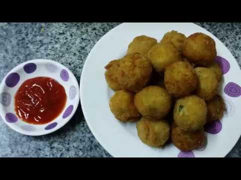 Fried Cheese Balls | Homemade Cheese Balls Easy Recipes