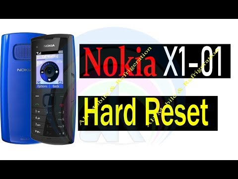 Nokia X1-01 Security Code Unlock Hard Reset With 4 Button