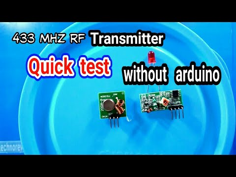 433 mhz RF module quick test |without arduino