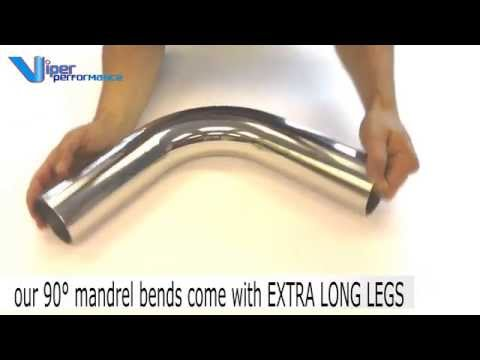 Stainless Steel Quality Mandrel Bend Polished Pipes 90° demo