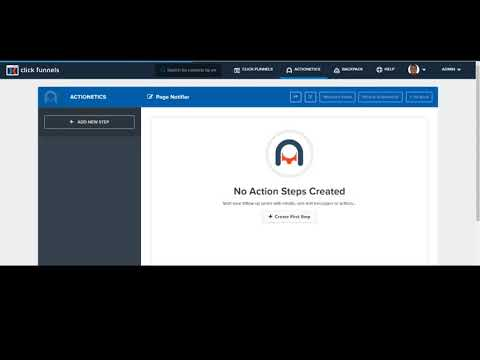 How to use the ClickFunnels Page Notifier in your Action Funnels