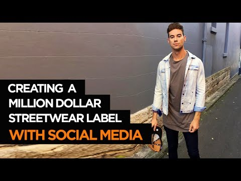 How To Start A Clothing Line - Million Dollar Streetwear Label using Instagram
