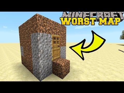 Minecraft: THE WORST MINECRAFT MAP EVER?! - BAD MAP - Custom Map