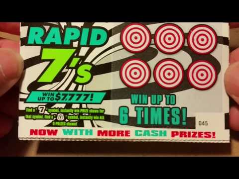 $1 MONDAY~RAPID 7'S~GEORGIA LOTTERY TICKETS😀~FROM JUMBO SCRATCHER
