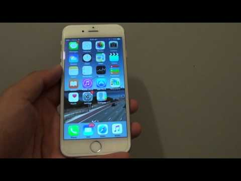 iPhone 6: How to Reject a Phone Call With a Text Message Response