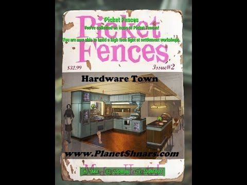 Picket Fences #2 - Modern Hearth - Magazine Location - Hardware Town - Fallout 4