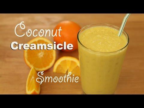 Coconut Orange Creamsicle Smoothie by Rockin Robin